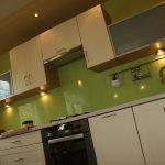 Kuchnia szkło barwione