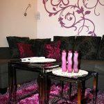 Apartament Szablon Na Ścianie Glamur Salon