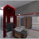 apartament5_lazienka-czerwone-dodatki