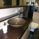 Łazienka - umywalka szklana