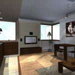 mieszkanie strefa jadalni