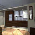 mieszkanie wysoka zabudowa w kuchni